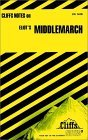 Image for CLIFFSNOTES MIDDLEMARCH