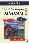 Image for THE JAVA(TM) DEVELOPERS ALMANAC: 1998