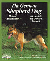 Image for THE GERMAN SHEPHERD DOG: EVERYTHING ABOUT PURCHASE, CARE, NUTRITION, DISEAS ES, AND TRAINING