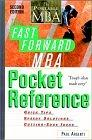 Image for THE FAST FORWARD MBA POCKET REFERENCE (PORTABLE MBA SERIES (PAPER))