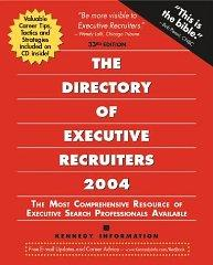 Image for THE DIRECTORY OF EXECUTIVE RECRUITERS 2004