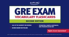 Image for GRE EXAM VOCABULARY FLASHCARDS