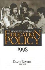 Image for BROOKINGS PAPERS ON EDUCATION POLICY 1998