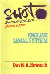 Image for SWOT ENGLISH LEGAL SYSTEM
