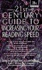 Image for 21ST CENTURY GUIDE TO INCREASING YOUR READING SPEED