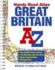 Image for GREAT BRITAIN HANDY ROAD ATLAS