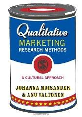 Image for QUALITATIVE MARKETING RESEARCH: A CULTURAL APPROACH