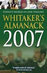Image for WHITAKERS ALMANAC 2007