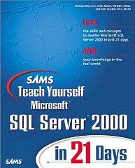 Image for SAMS TEACH YOURSELF MICROSOFT SQL SERVER 2000 IN 21 DAYS