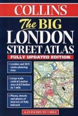 Image for LONDON BIG STREET ATLAS COLLINS