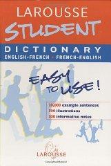 Image for LAROUSSE STUDENT DICTIONARY: FRENCH-ENGLISH / ENGLISH-FRENCH