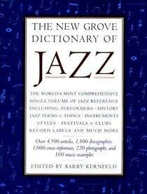 Image for THE NEW GROVE DICTIONARY OF JAZZ
