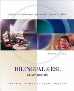 Image for BILINGUAL AND ESL CLASSROOMS: TEACHING IN MULTICULTURAL CONTEXTS - TEXT WIT H POWERWEB (4TH EDITION)