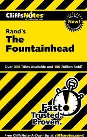 Image for CLIFFSNOTES ON RAND'S THE FOUNTAINHEAD