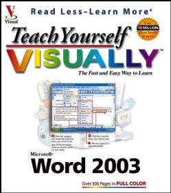 Image for TEACH YOURSELF VISUALLY WORD 2003 (VISUAL READ LESS, LEARN MORE)