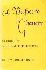 Image for A PREFACE TO CHAUCER: STUDIES IN MEDIEVAL PERSPECTIVES