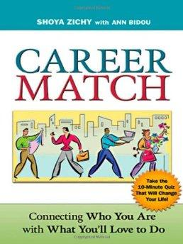Image for CAREER MATCH: CONNECTING WHO YOU ARE WITH WHAT YOU'LL LOVE TO DO