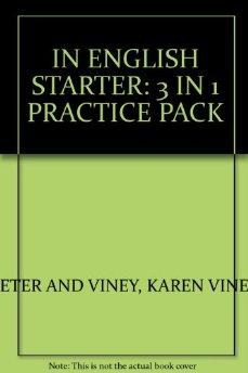 Image for IN ENGLISH STARTER: 3 IN 1 PRACTICE PACK