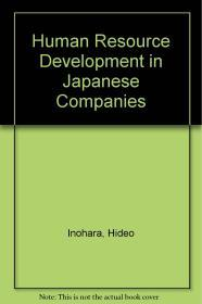 Image for HUMAN RESOURCE DEVELOPMENT IN JAPANESE COMPANIES