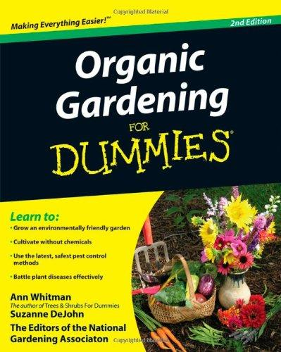 Image for ORGANIC GARDENING FOR DUMMIES