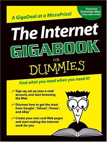 Image for THE INTERNET GIGABOOKFOR DUMMIES (FOR DUMMIES (COMPUTERS))