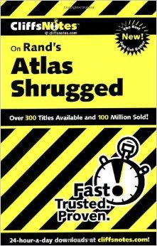Image for CLIFFSNOTES ON RAND'S ATLAS SHRUGGED