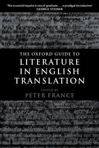 Image for THE OXFORD GUIDE TO LITERATURE IN ENGLISH TRANSLATION
