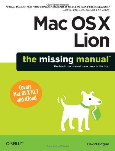Image for MAC OS X LION: THE MISSING MANUAL