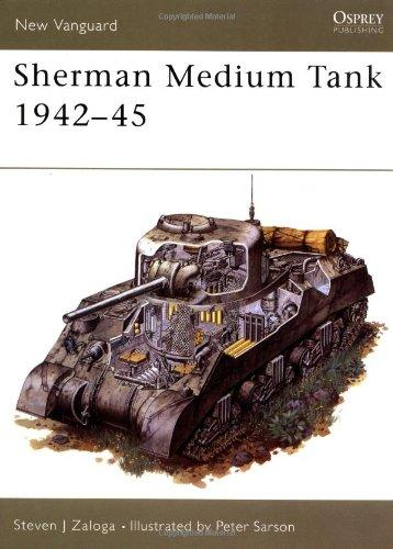 Image for SHERMAN MEDIUM TANK 1942-45 (NEW VANGUARD)