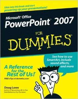 Image for POWERPOINT 2007 FOR DUMMIES