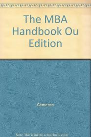 Image for THE MBA HANDBOOK OU EDITION