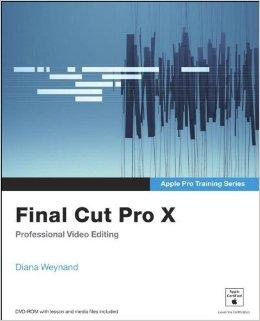 Image for APPLE PRO TRAINING SERIES: FINAL CUT PRO X.