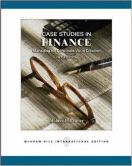 Image for CASE STUDIES IN FINANCE: MANAGING FOR CORPORATE VALUE CREATION