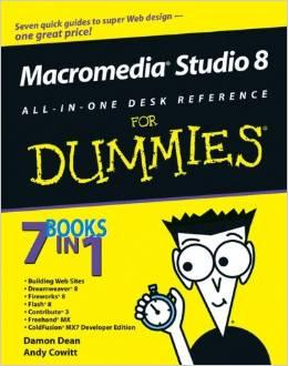 Image for MACROMEDIA STUDIO 8 ALL-IN-ONE DESK REFERENCE FOR DUMMIES