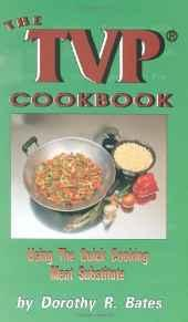 Image for THE TVP COOKBOOK: USING THE QUICK-COOKING MEAT SUBSTITUTE