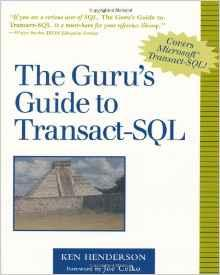 Image for THE GURU'S GUIDE TO TRANSACT-SQL