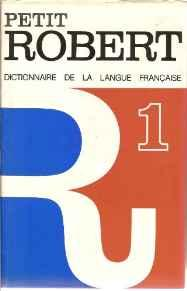 Image for PETIT ROBERT 1 (FRENCH EDITION)