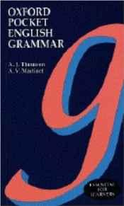 Image for OXFORD POCKET ENGLISH GRAMMAR