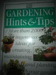 Image for GARDENING HINTS & TIPS