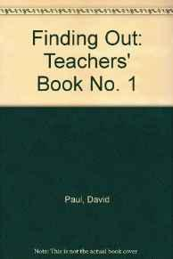 Image for FINDING OUT-TEACHER'S BOOK: LEVEL 1 (FINDING-OUT BOOKS)