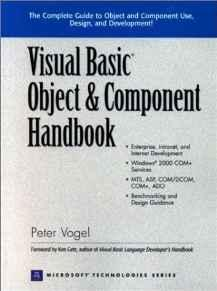 Image for VISUAL BASIC OBJECT AND COMPONENT HANDBOOK