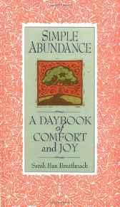 Image for SIMPLE ABUNDANCE: A DAYBOOK OF COMFORT OF JOY