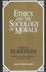 Image for ETHICS AND THE SOCIOLOGY OF MORALS