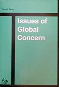 Image for ISSUES OF GLOBAL CONCERN