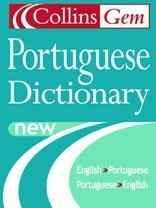 Image for COLLINS GEM PORTUGUESE DICTIONARY ENGLISH-PORTUGUESE, PORTUGUESE-ENGLISH, P OCKET SIZE