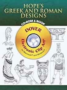 Image for HOPE'S GREEK AND ROMAN DESIGNS CD-ROM AND BOOK (DOVER ELECTRONIC CLIP ART)