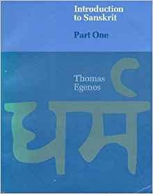 Image for INTRODUCTION TO SANSKRIT (PART ONE)