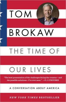 Image for TIME OF OUR LIVES: A CONVERSATION ABOUT AMERICA