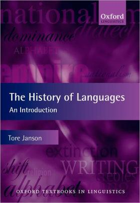 Image for THE HISTORY OF LANGUAGES: AN INTRODUCTION