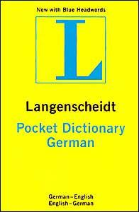 Image for POCKET GERMAN/ENGLISH